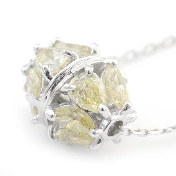 0.5ct ロンデルデザインダイヤモンドペンダント(チェーン付) ダイヤ ネックレス K18 ギフト プレゼント 誕生石 4月 記念日 いつも前向き メッセージ