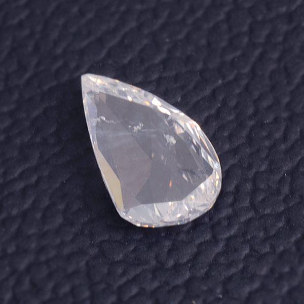 ☆ダイヤモンド しずく 1.18ct1個限定製品オーダー可能※こちらのルースを使用してのオーダー・セミオーダー・カスタマイズもお受けできます。 誕生石 4月