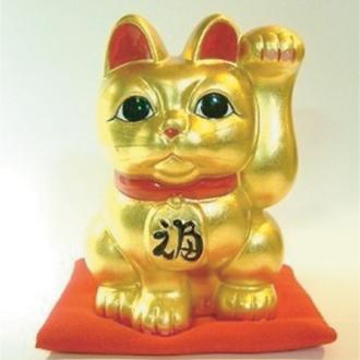 招き猫 4号(千客万来)