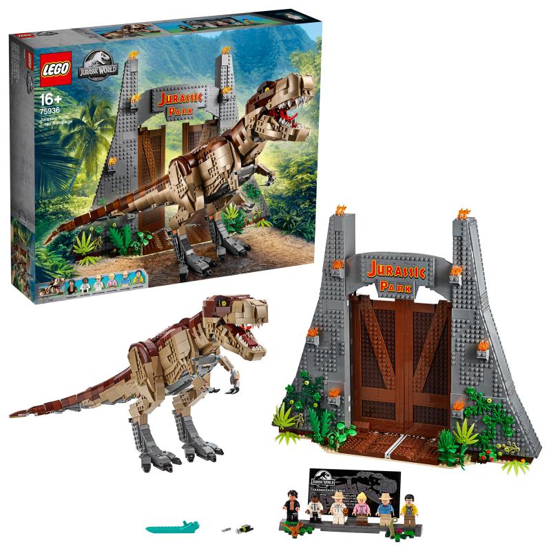 レゴ(LEGO) ジュラシック・ワールド ジュラシック・パーク:Tレックスの暴走 75936