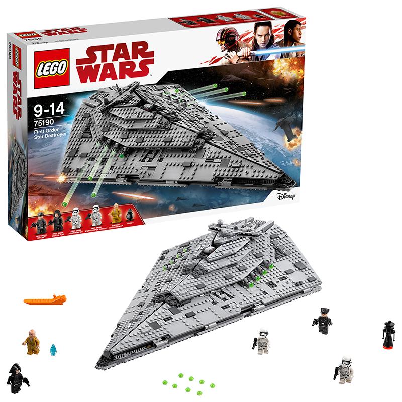 レゴ (LEGO) スター・ウォーズ ファースト・オーダー スター・デストロイヤー 75190