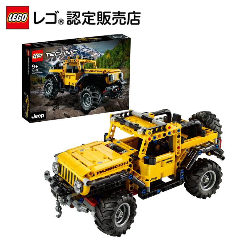 【レゴ(R)認定販売店】レゴ (LEGO) テクニック ジープ ラングラー 42122 || おもちゃ 玩具 ブロック 男の子 女の子 おうち時間 父の日