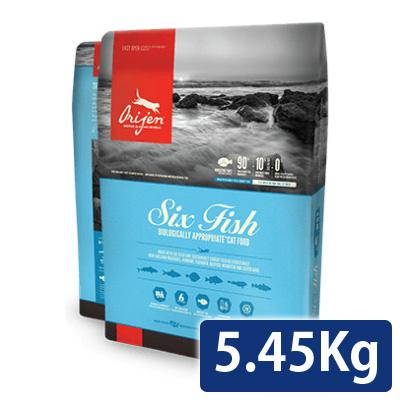 オリジン シックスフィッシュ キャット 5.45kg 送料無料 コンビニ受取対応商品