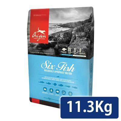オリジン シックスフィッシュドッグ 11.3kg 正規品 送料無料 コンビニ受取対応商品