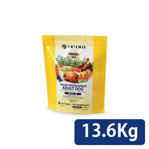アーテミス フレッシュミックス ウェイトマネージメントアダルトドッグ 13.5kg 送料無料 コンビニ受取対応商品