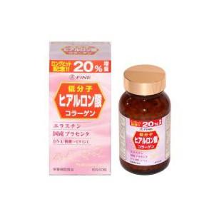ヒアルロン酸 (豚コラーゲン+豚プラセンタ) 20%増量