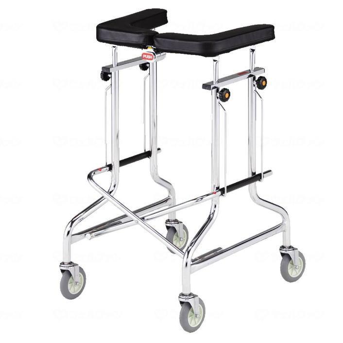 【非課税】 屋内用歩行車 アルコー1S型 100415 星光医療器製作所 送料無料 リハビリ 施設 病院 介護 介助 訓練