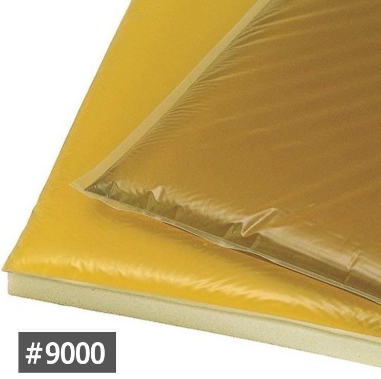 車いす用クッション アクションジャパン 車椅子用アクションパッド #9000(ベーシック)40×40×2.5cm カバー付き