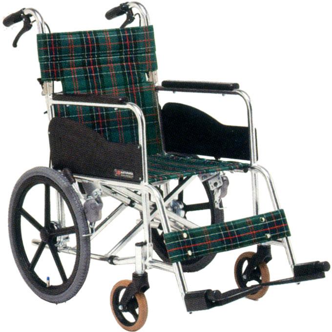 【非課税】松永製作所 スタンダード車椅子 アルミAR基本タイプ 背折りたたみ 介助式 AR-311 低床タイプ