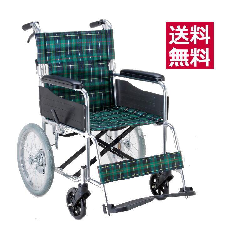 【非課税】マキテック エコノミーシリーズ 介助式 背折れ可・介助ブレーキ付き車椅子 EW-30 【メーカー直送】