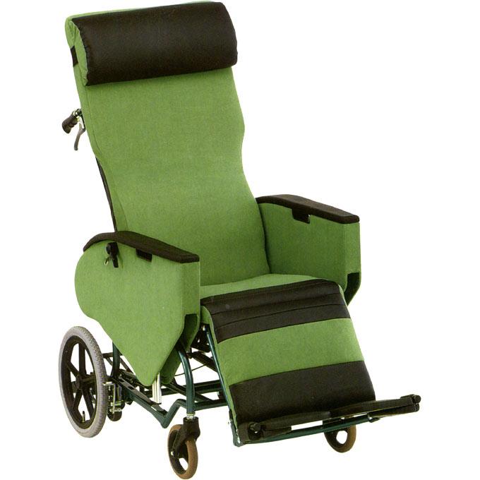 【非課税】松永製作所 フルリクライニング&ティルティング車椅子 エリーゼ FR-31TR