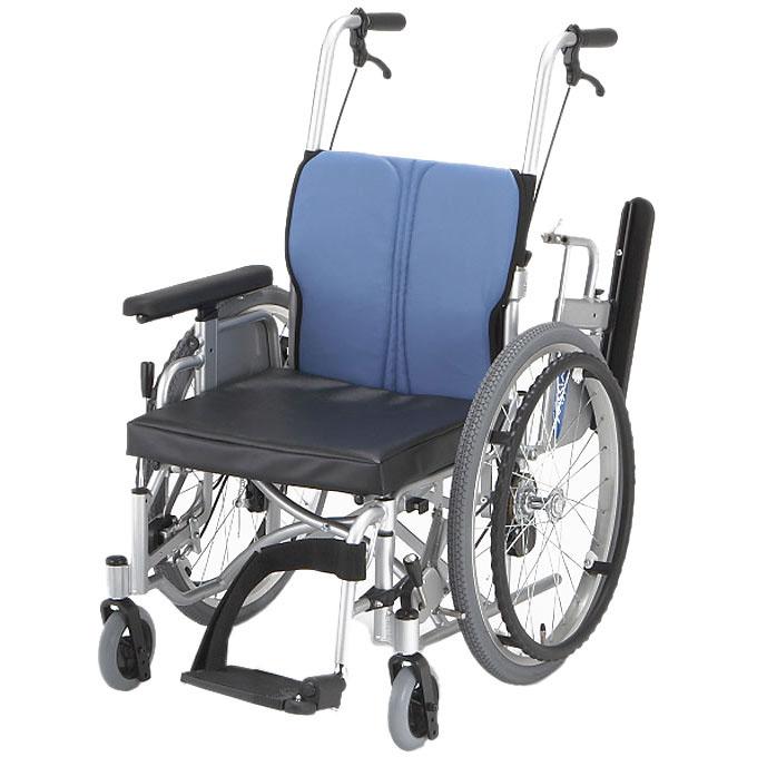 【非課税】日進医療器 アーチクロス型足こぎ対応モジュラー式低床車いす KICKLLE キックル