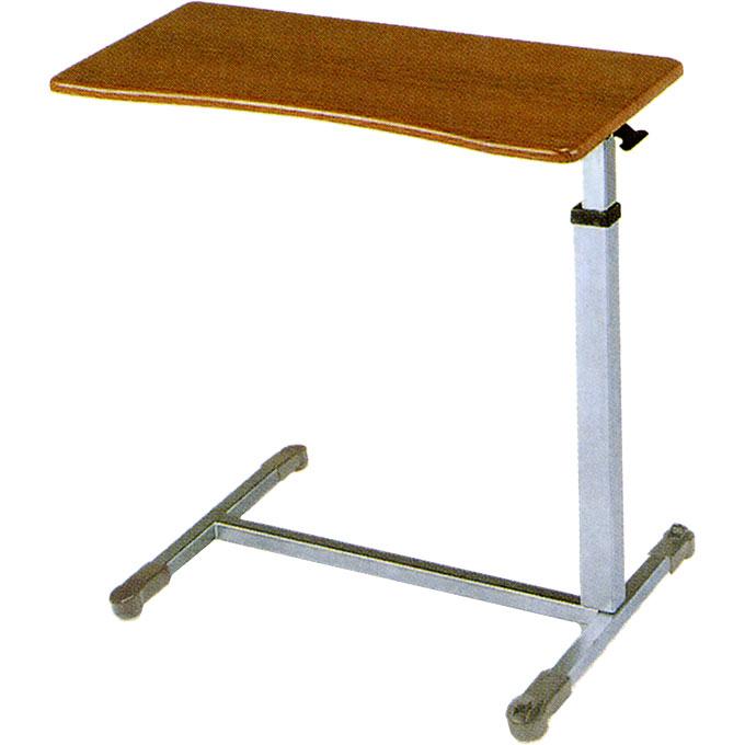 睦三 ベッドサイドテーブルSL2(717) 【送料無料】 介護 ベッド 机 介護 食事 サイドテーブル