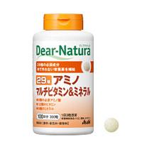 Dear-Natura ディアナチュラ マルチビタミンミネラル 8種の必須アミノ酸と12種のビタミン 9種のミネラルを配合 卓出 29アミノ 300粒 ミネラル 買い物 マルチビタミン