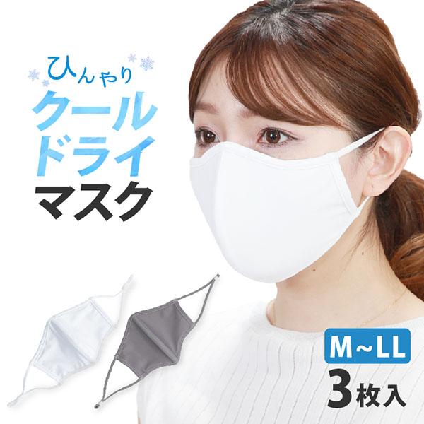 水着マスク 水着素材マスク 大人 定番キャンバス 大人用 布 洗えるマスク 超激安 3枚入 クールドライマスク メール便送料無料