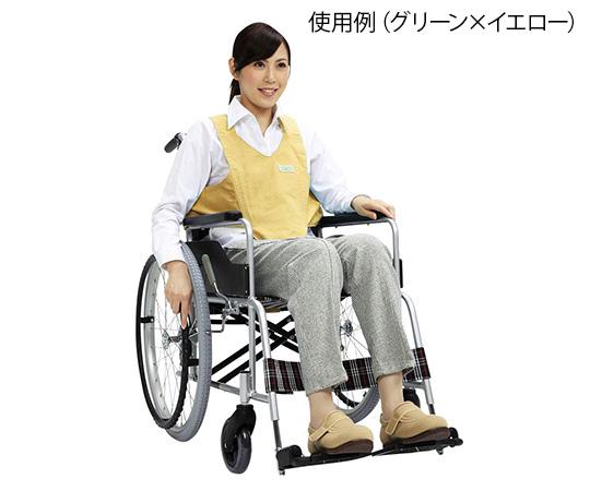 車いす用ワンタッチベルト キーパーII パープル×モカ