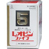 【第3類医薬品】 レオピンファイブw 60ml×2本入