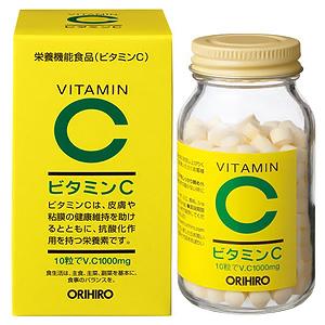買い物 ビタミンC粒 オリヒロ 発売モデル ビタミンC 栄養機能食品 不足しがちなビタミンを補給する必須アイテム 300粒