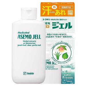 ユースキン ジェル 医薬部外品 汗による肌あれ あせも予防に 超人気 最安値 薬用あせもジェル 140mL