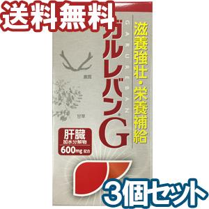 【第3類医薬品】ガルレバンG 300錠×3個セット あす楽対応