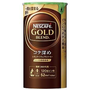 コク深めでしっかりした味わいを実現 ネスカフェ ゴールドブレンド エコシステムパック 10%OFF コク深め セール特価品 105g
