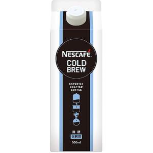 ネスカフェ コールドブリューコーヒー 無糖 500ml×6本セット