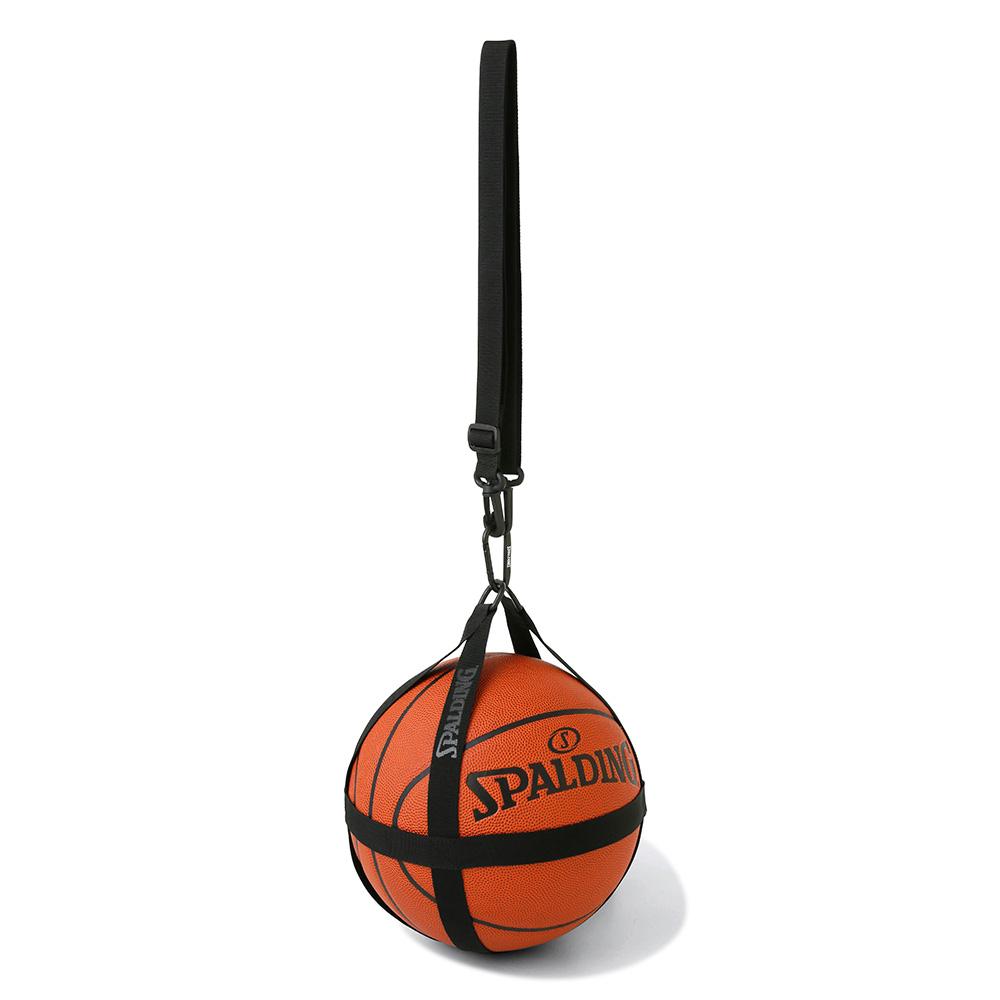 贈り物 バスケットボールハーネス ブラック 50-013BK 正規品 SPALDING スポルディング バスケットボール バスケ バッグ ボールケース お気に入 1個 男性 ボール おしゃれ メンズ 男女兼用 オシャレ レディース 女性 ユニセックス