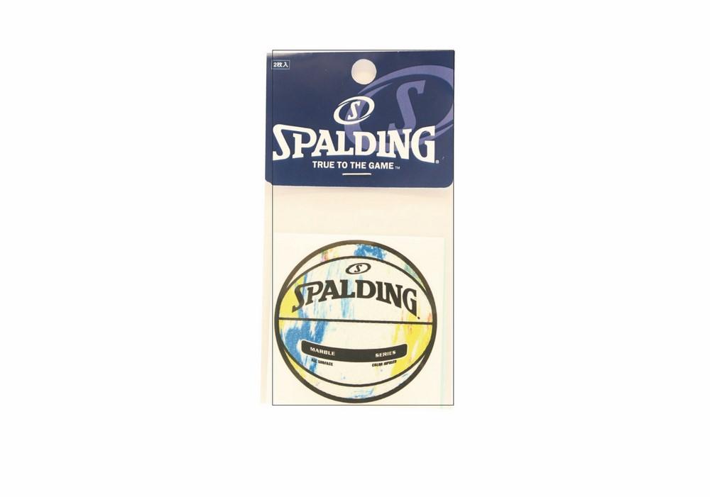 ボールステッカー マーブルマルチ 驚きの価格が実現 14-001ML 正規品 SPALDING スポルディング 新作 大人気 アクセサリー NBA バスケ 小物 バスケットボール