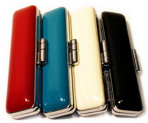イチ押し 印鑑ケース はんこケース ヒットケース 最安値に挑戦 10.5mm~12mm用 全4種類から選べます かわいい ランキングTOP5 朱肉付 プレゼントやギフトに 認印 個人ハンコ福袋価格 実印 銀行印