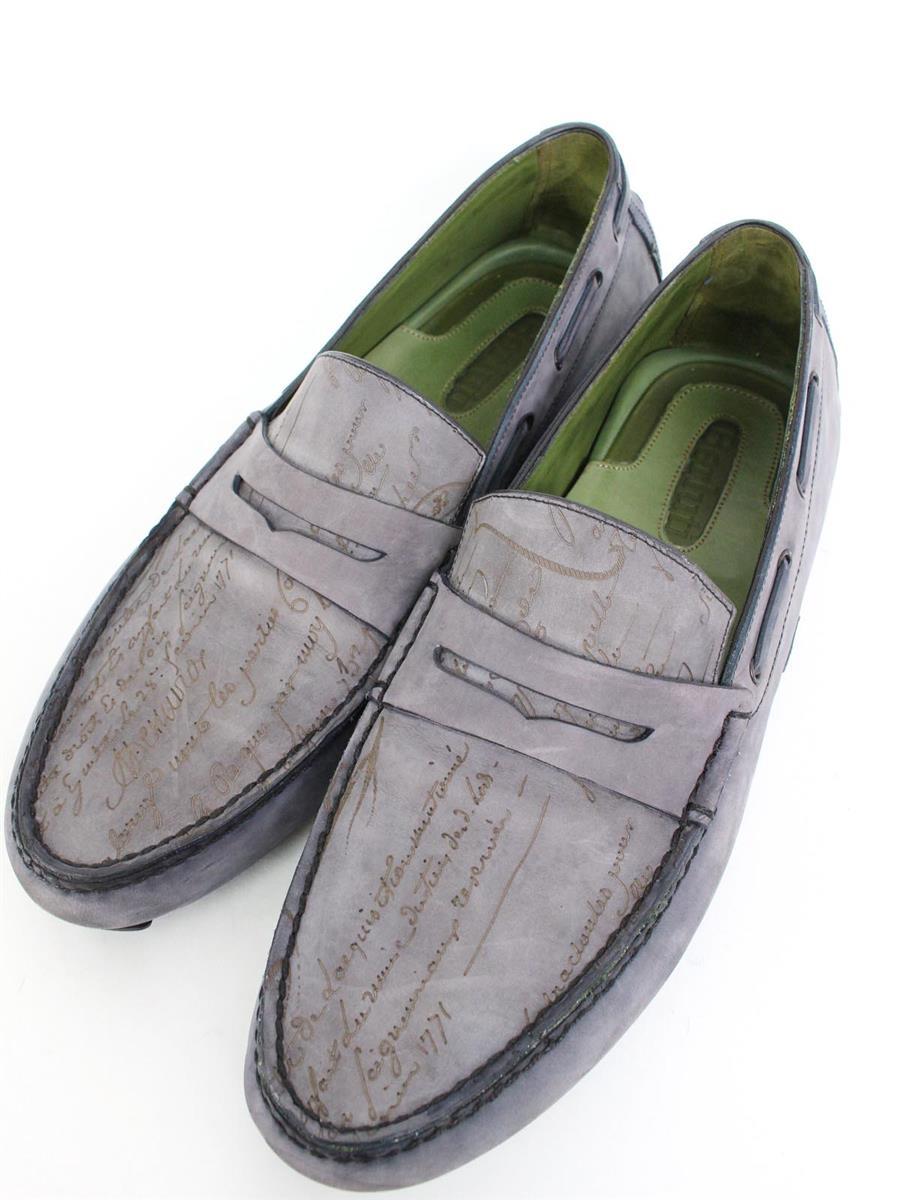 Berluti ベルルッティ 靴 9 カリグラフィ ドライビングシューズ【Bランク】【中古】ts271205