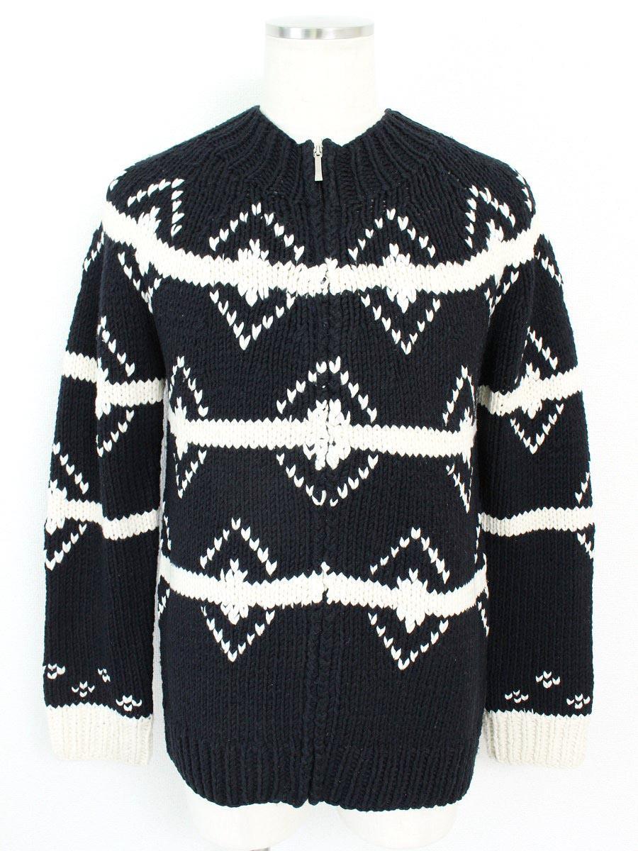 BURBERRY バーバリーブラックレーベル セーター カウチン 【Bランク】【中古】ts271024