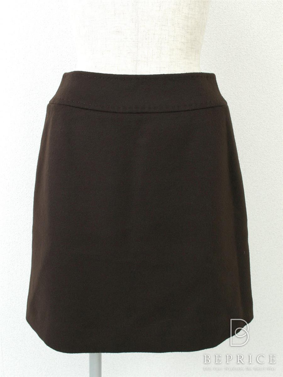 FOXEY BOUTIQUE フォクシー スカート 40 カシミヤミニ 【Aランク】【中古】ts280125