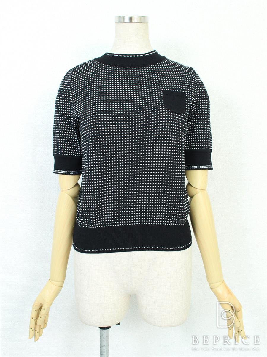 FOXEY BOUTIQUE フォクシー トップス Knit Tops Planet【38】【Aランク】【中古】tn281023