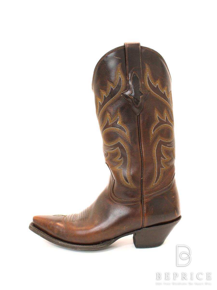 RESISTOL レジストール 靴 ウエスタンブーツ【7.5B】【Bランク】【中古】tn290416