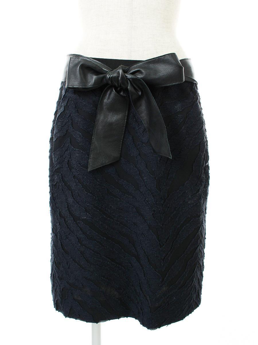 Drawer ドゥロワー スカート 刺繍【38】【Aランク】【中古】gz290618