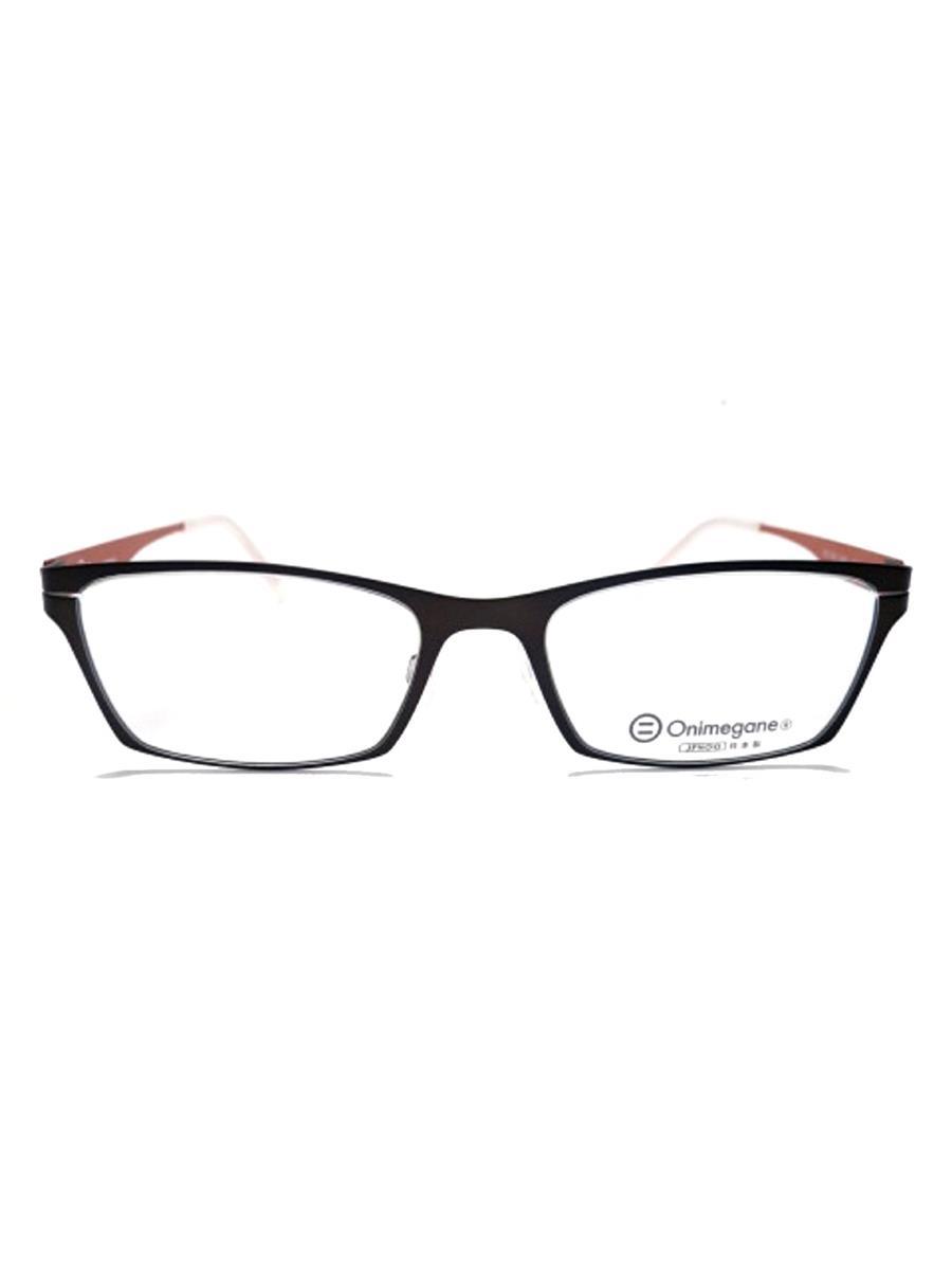 ONIMEGANE オニメガネ 眼鏡 メガネフレーム【メンズ】【53□18-140】【Aランク】【中古】as290713