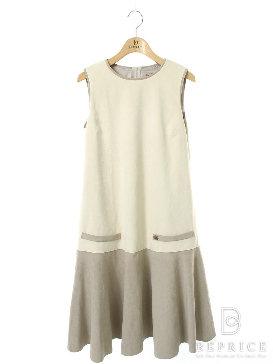DAISY LIN for FOXEY フォクシー ワンピース Daisy Suede Dress【38】【Aランク】【中古】tn290723t