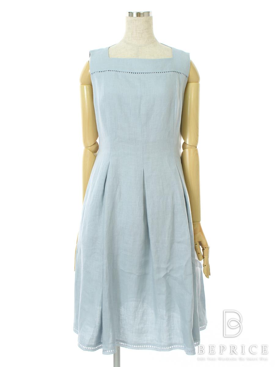 FOXEY BOUTIQUE フォクシー ワンピース リネン Provence【42】【Aランク】【中古】gztn290730t