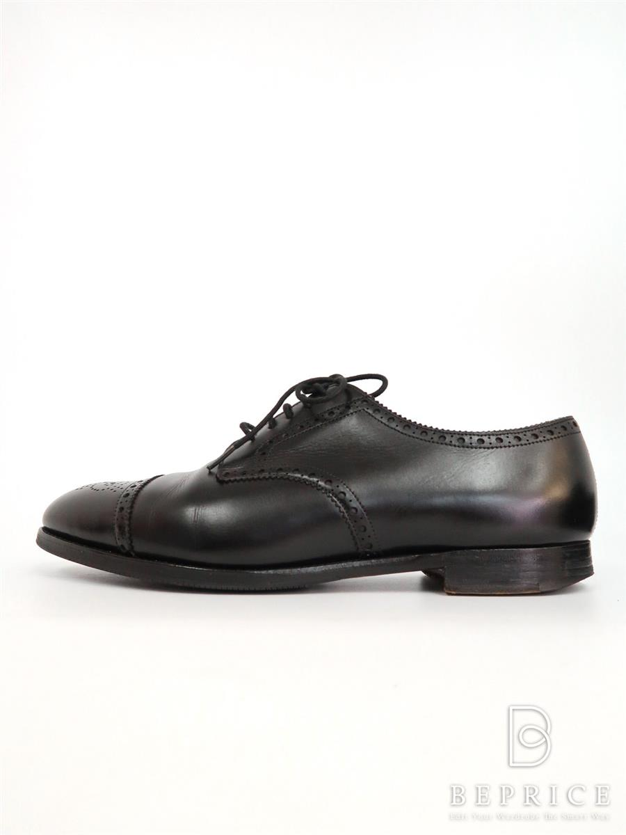 EDWARD GREEN エドワードグリーン 靴 シューズ カーディフ Cardiff 【メンズ】【8】【Bランク】【中古】tn290803t