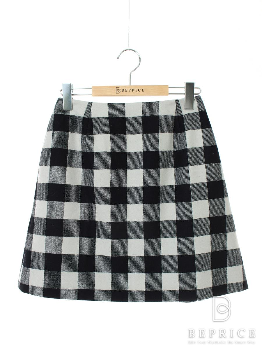 FOXEY BOUTIQUE フォクシー スカート Skirt チェック柄【38】【Aランク】【中古】tn290810t