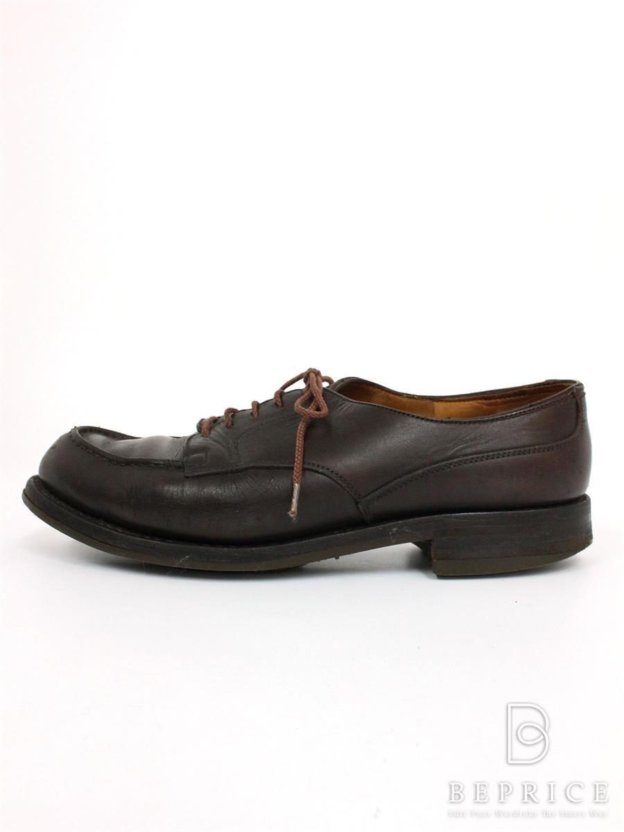 JM WESTON JMウエストン 靴 Uチップ レースアップ【メンズ】【5.5 D】【Bランク】【中古】tn290831t