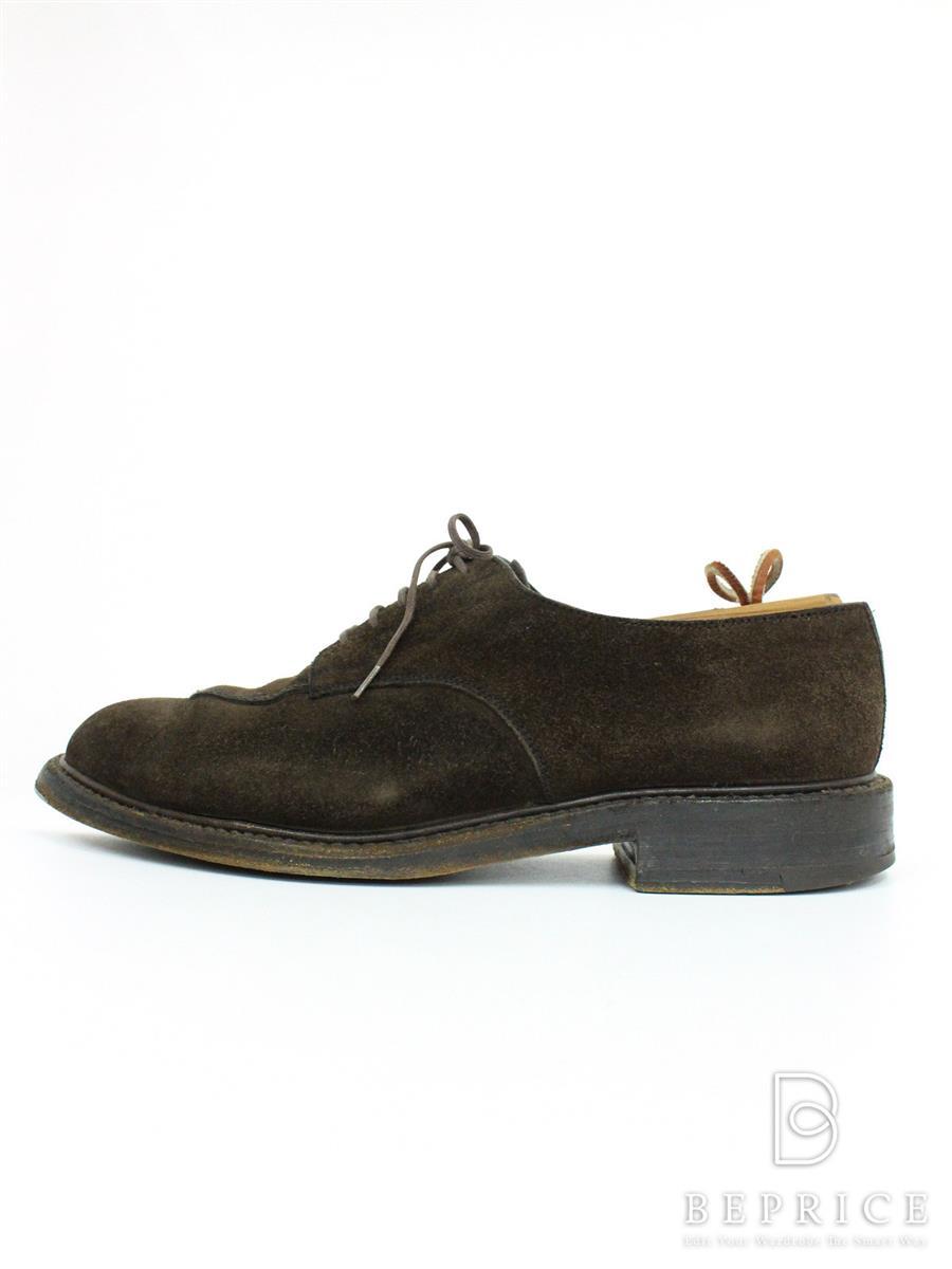 JM WESTON JMウエストン 靴 Yチップ スウェード【メンズ】【5.5 D】【Bランク】【中古】tn290903t