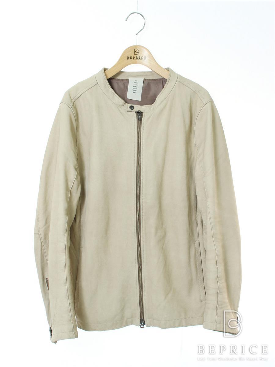 SHAMA シャマ ジャケット シングルライダース【メンズ】【42】【Bランク】【中古】tn290921t