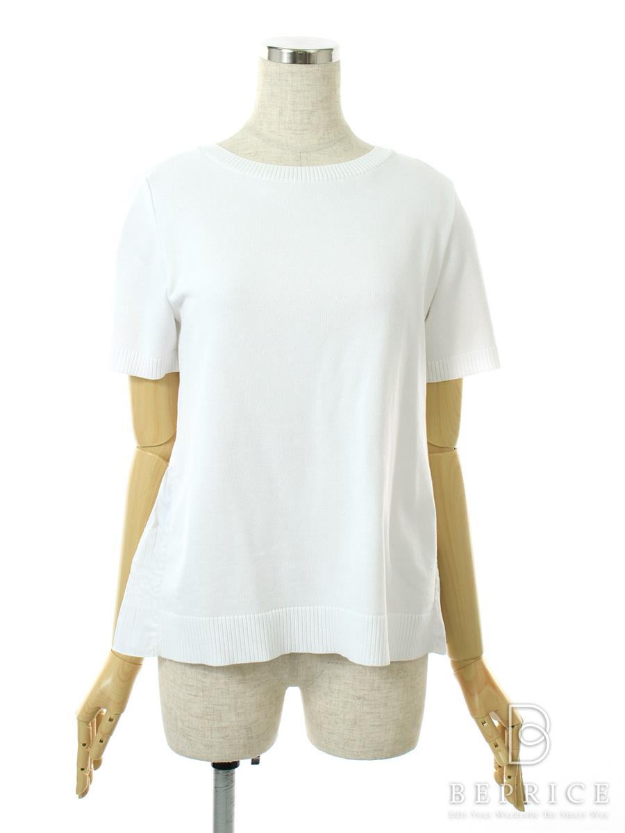 FOXEY BOUTIQUE フォクシー トップス Pleated Back Hemknit Top【40】【Aランク】【中古】tn290928t