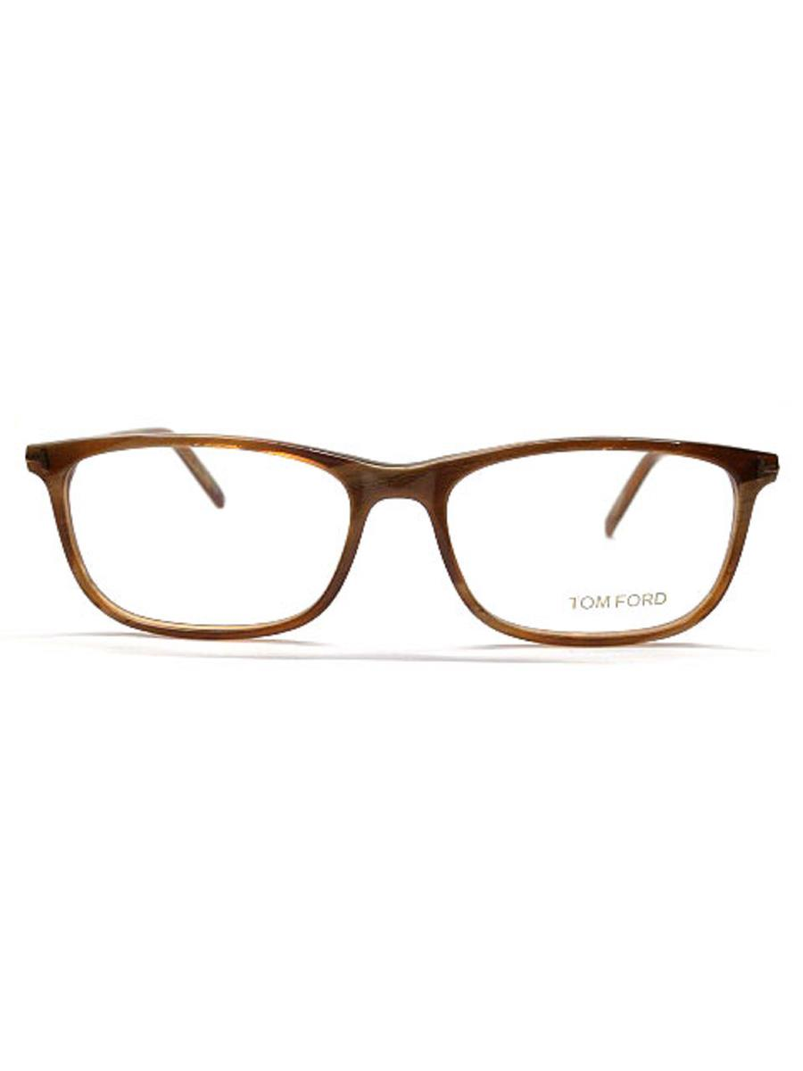 TOM FORD トムフォード 眼鏡 メガネフレーム ウェリントン アジ【55□16 145】【Sランク】【中古】as291001t