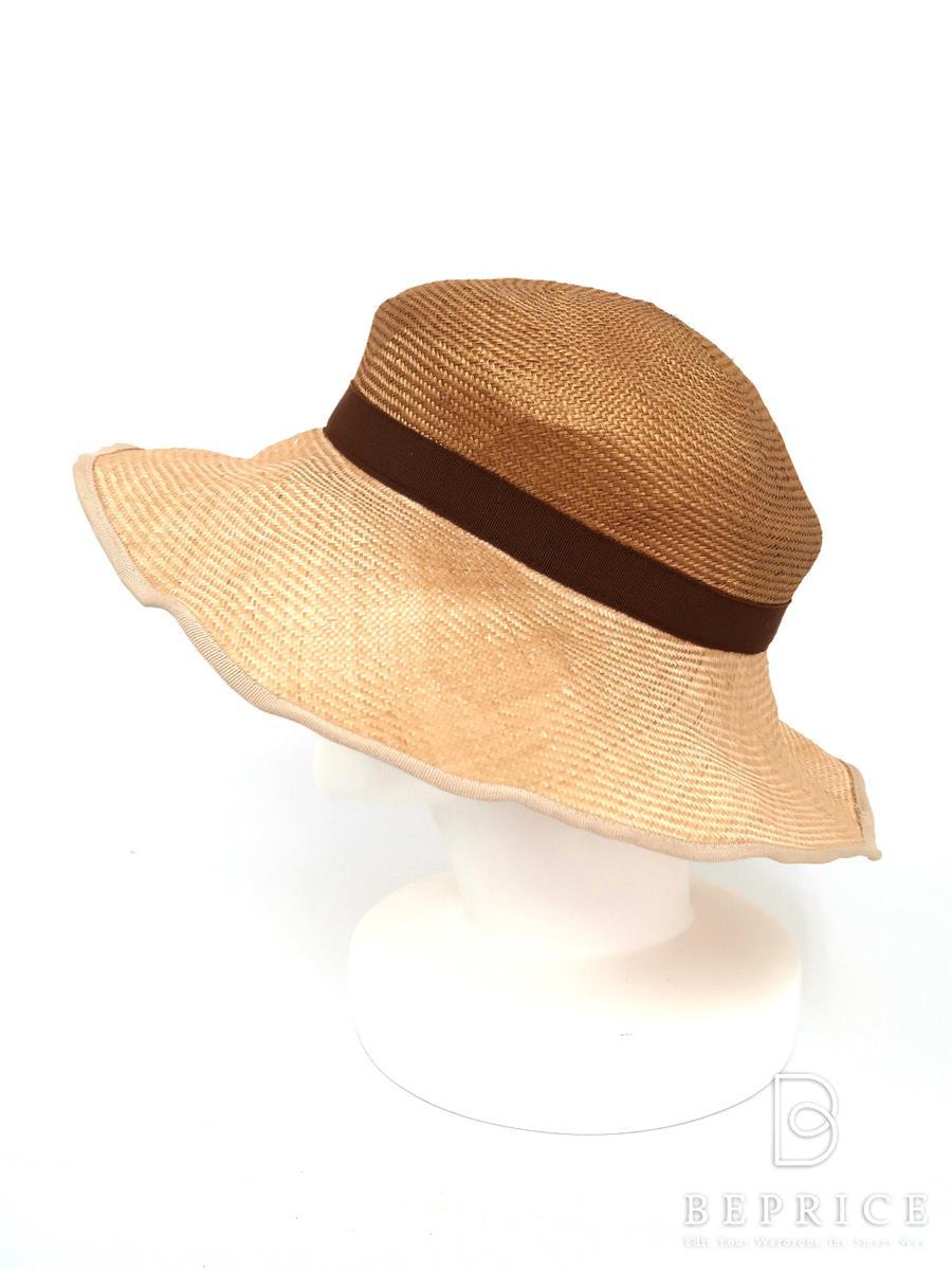 Muhlbauer ミュールバウアー 帽子 ストローハット【Aランク】【中古】tn291001t