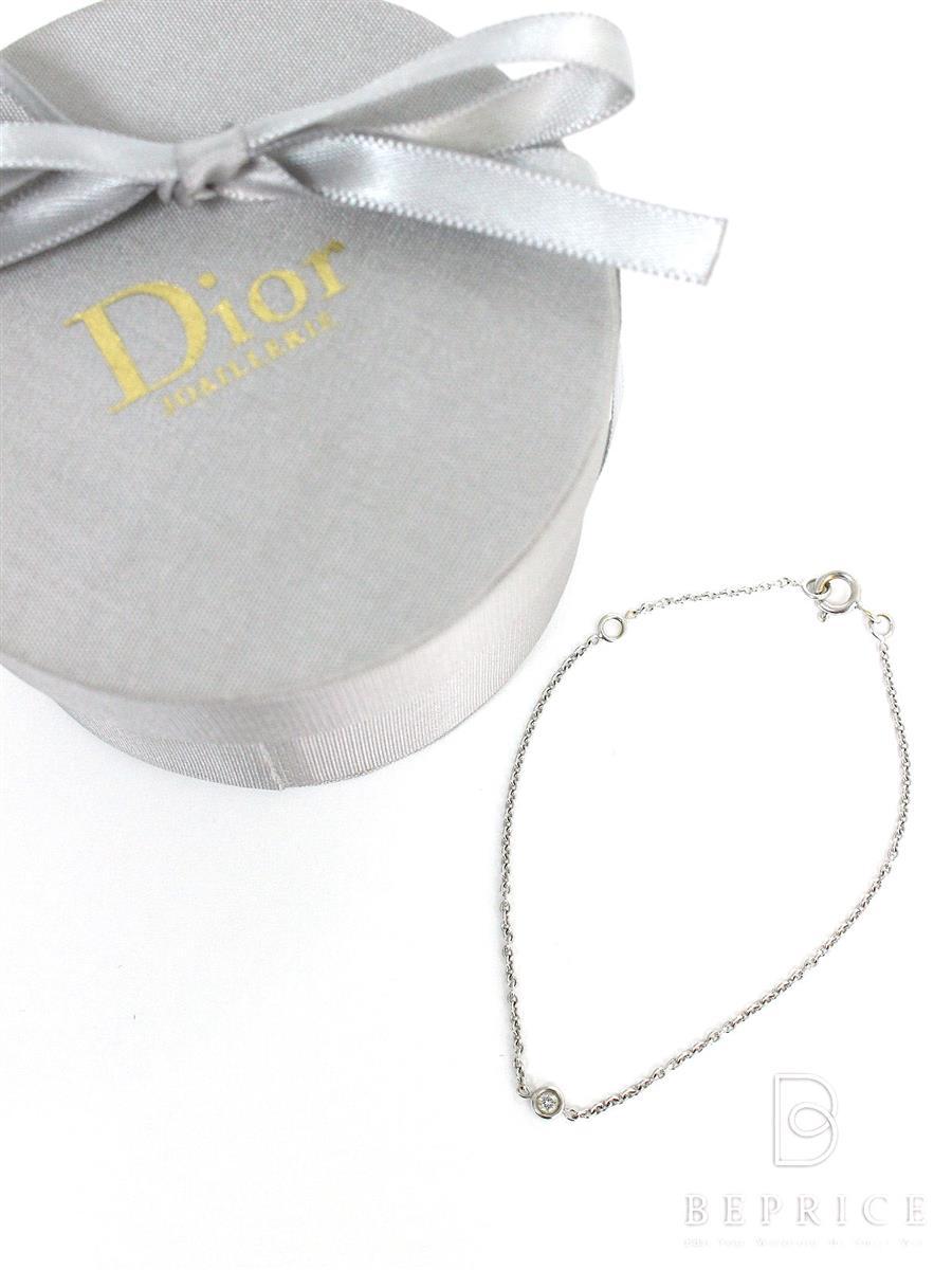ChristianDior ディオール ブレスレット ミミウィ K18WG ダイヤ【Aランク】【中古】tn291019t