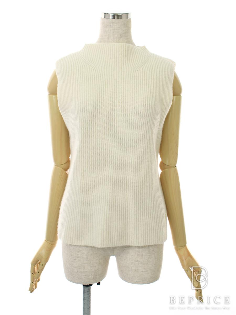 FOXEY BOUTIQUE フォクシー トップス Sleeveless Sweater Souffle カシミヤ【38】【Aランク】【中古】tn291026t