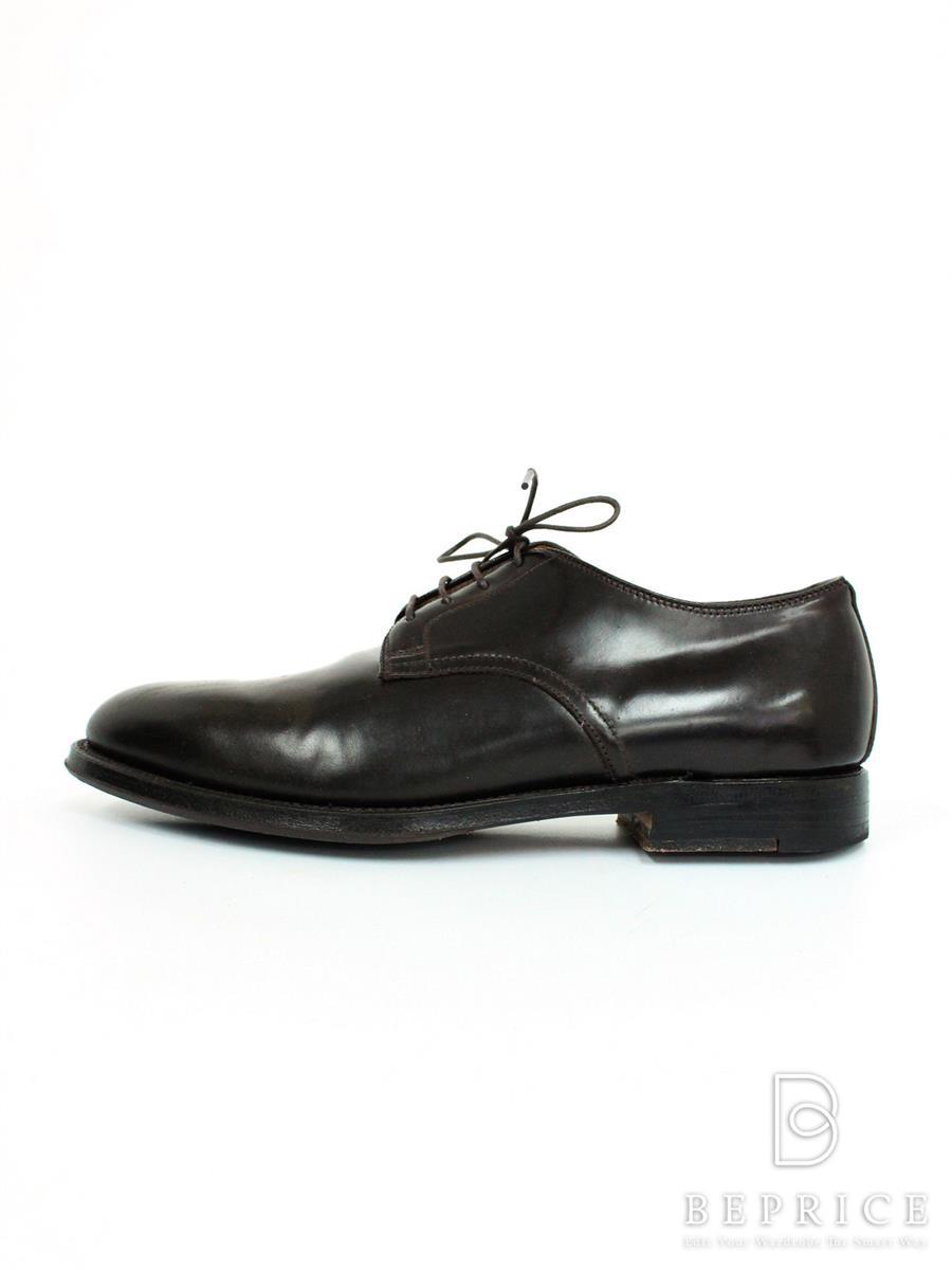 ALDEN オールデン 靴 ドレスシューズ コードバン プレーントゥ【メンズ】【8A/5】【Bランク】【中古】tn291026t