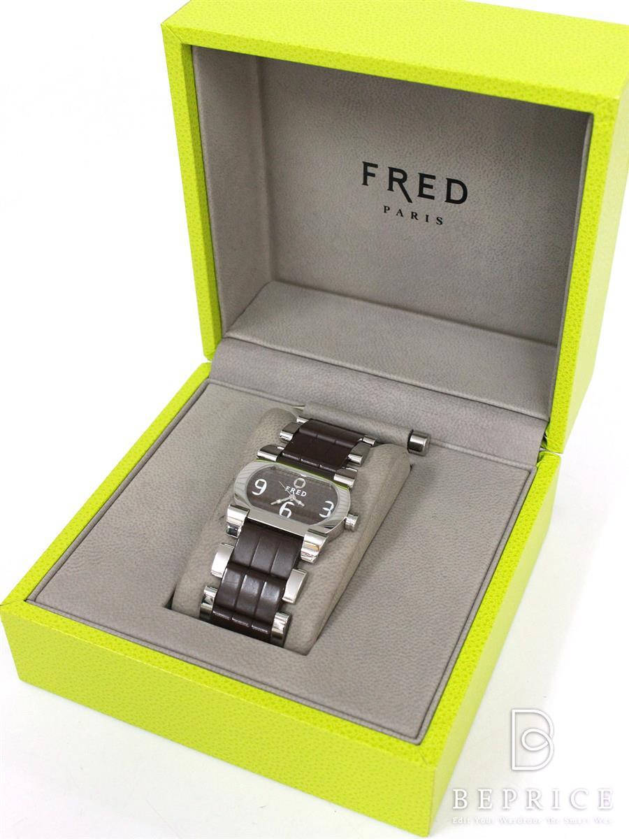 FRED フレッド 時計 ムーブワン クォーツ ラバー【Aランク】【中古】gz291029t